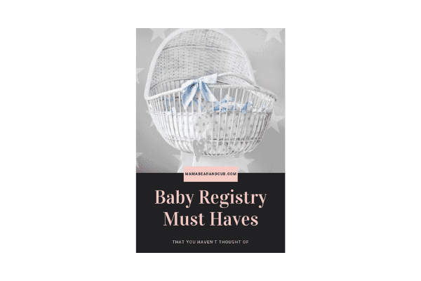 Must Have Items For Baby Registry